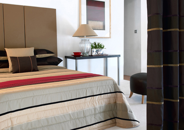 Hotel furniture in various styles
