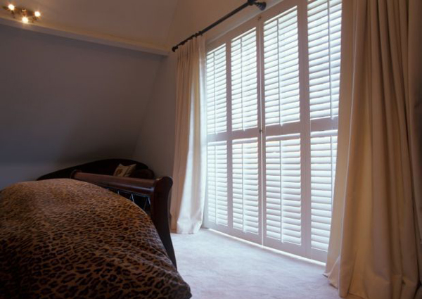 Solar shades and blinds in various styles