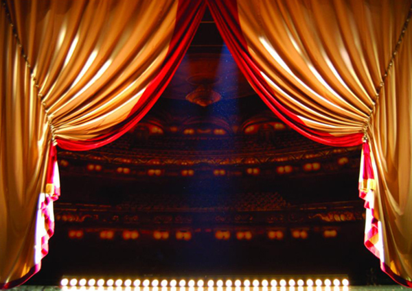 Theater en feestzaal inrichting
